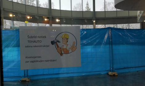 Tehauto salona rekonstrukcija