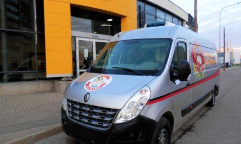 Latvijā reģistrēts Renault Master nobraucis vairāk nekā 1 miljonu kilometru