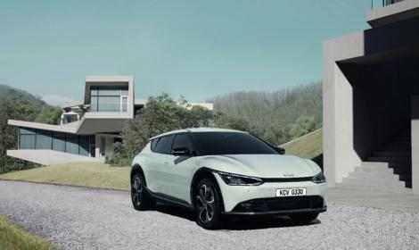 KIA jauna dizaina filozofija un jauns elektromobilis EV6